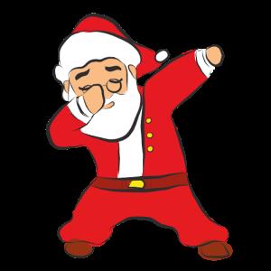 Dabbing Santa, Weihnachtsmann, Dab, Santa Claus