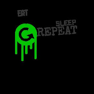 Eat Eskalieren Sleep Repeat | Ersti-Party Student