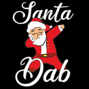 Dabbing Santa Weihnachtsmann Weihnachten Geschenk