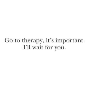 """Harry """"go to therapy"""" quote"""