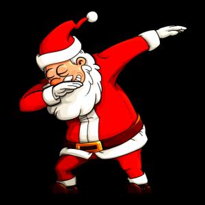 Dabbing Santa Claus - Weihnachtsmann