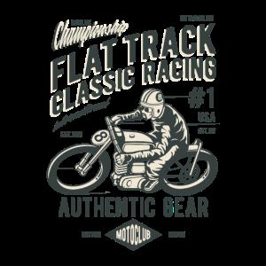 Flat track classic racing