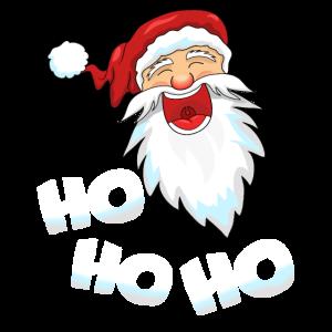 Weihnachtsmann Ho Ho Ho