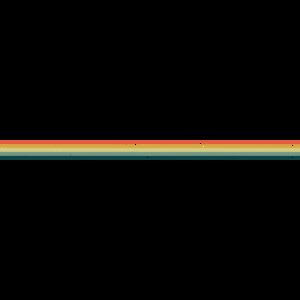 Retro Farben Linie Vorlage Distressed Regenbogen
