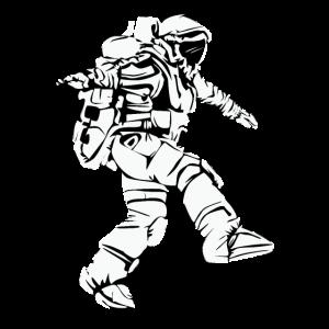 Astronaut Spaziergang