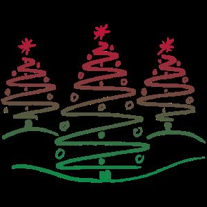 Weihnachtsdesign Tannenbaum