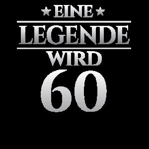 60. Geburtstag Eine legende wird 60