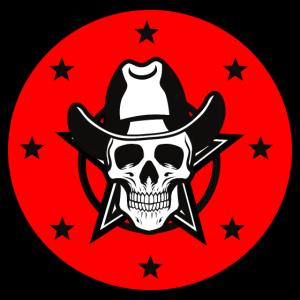 cowboy totenschädel