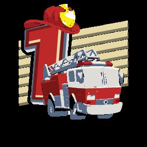 Geburtstag 1 Jahr alt Feuerwehr