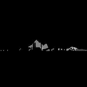 Skyline - München Berge
