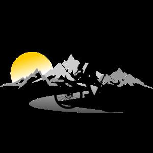 Sport - Radfahrer Berge
