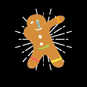 Weihnachten Lebkuchenmann Dab