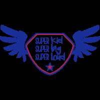 Super kid - Super big - Super loud