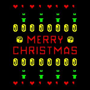 Merry Christmas Frohe Weihnachten Gaming Geschenk