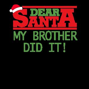 Geschwister Passende T-Shirt Geschenk
