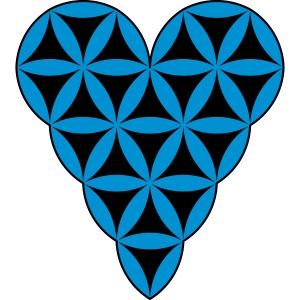 Heart of Life x 1 - Vector with custom colour.