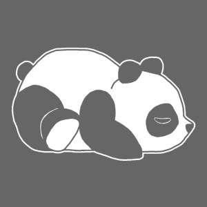 Panda, süß, Tier, Comic