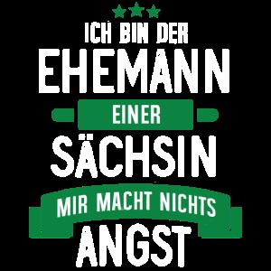 EHEMANN EINER SÄCHSIN - SACHSE SACHSEN GESCHENK