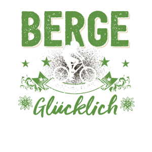 Fahrrad Mountainbike Berge E-Bike Geschenk lustig