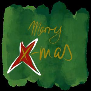 Merry green X-Mas green
