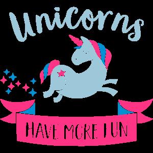Unicorns have more fun