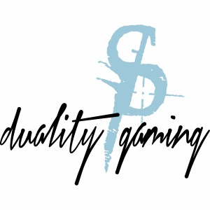 duality gaminglogo and text
