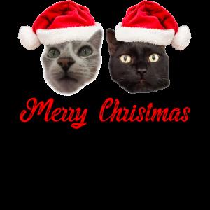 Funny Cat Christmas Shirt