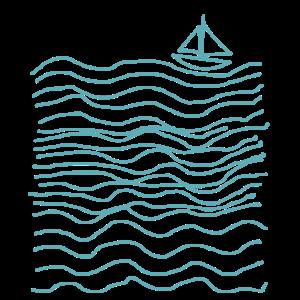 Seemannsgarn - Süßes Seegang mit Boot