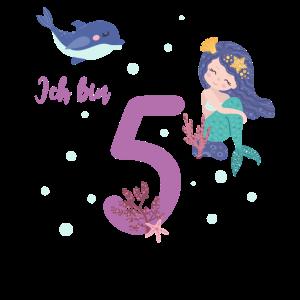 fünfter Geburtstag 5 Jahre alt Geburtstagsshirt