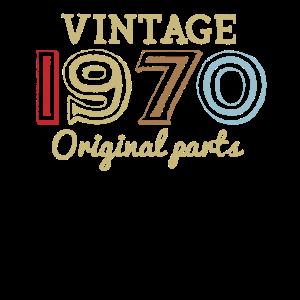 50. Geburtstag Retro 70er 1970 Vintage Geschenke