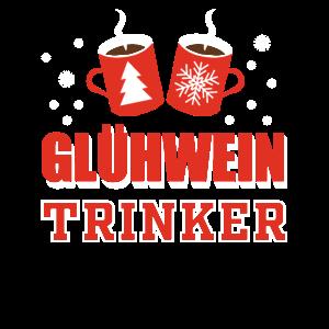 Glühwein Trinker Weihnachtsmarkt Weihnachtsfeier