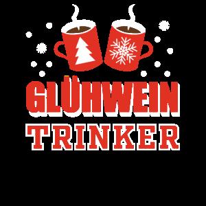 Glühwein Trinker Weihnachten Weihnachtsfeier