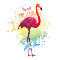flamingo colors