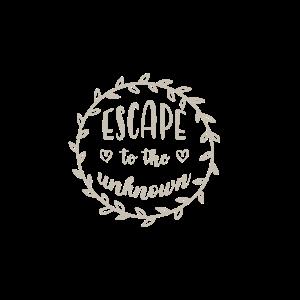 escape to the unknown Geschenk Abenteuer Urlaub Be