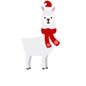 Alpaka - No Probllama -Weihnachtsedition