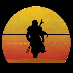 Soldat Sonnenuntergang