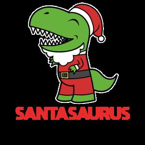 Santasaurus Rex Weihnachtsmann Dino