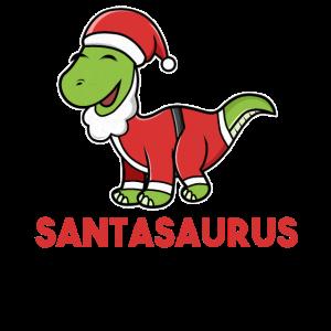 Santasaurus Brontosaurus Weihnachtsmann