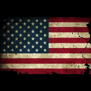 USA Flagge Used Look Amerika US Stars & Stripes
