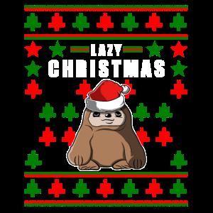 Faultier Ugly Christmas