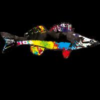 pike perch fish colors