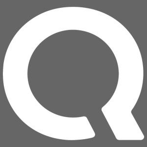 "Logo ""Q"" Blanc"