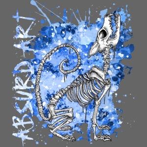 """Knochentierchen """"Wolf"""" von Absurd ART"""