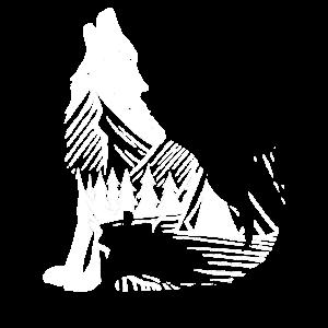 Wolf Natur Wildnis Umwelt Wald