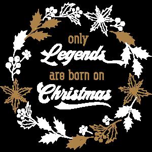 Christmas – Weihnachten Geschenk Typografie Xmas