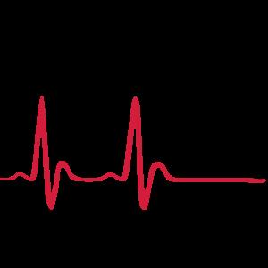 Laufen, Läuferin und Herzschlag