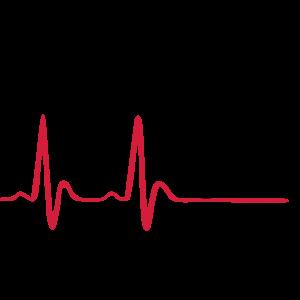 Radfahren, Radfahrer & Herzschlag, EKG