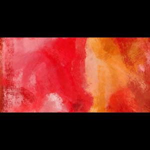 rote und orange pinselstriche abstrakte kunst