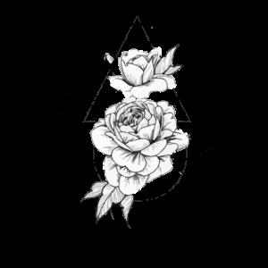 geometrische rose