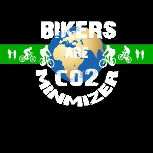 Bikers are co2 minimizer